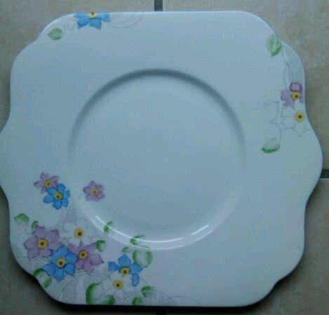 Colclough plate.