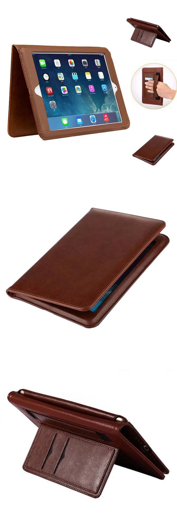 [Visit to Buy] Case for iPad mini 1 2 3 Luxury pu leather Full Corner Protect Ultra Slim Smart Cover case for funda iPad mini 1 2 3+stylus pen #Advertisement