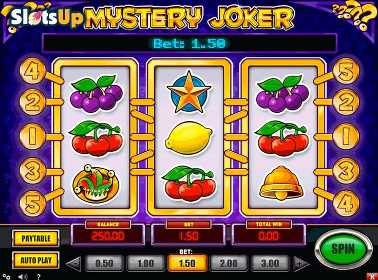 Honestly, there is nothing mysterious about Mystery Joker #freeslot at all :) The game title works perfectly for the majority of players at www.slotsup.com. Wonder why? See yourself!