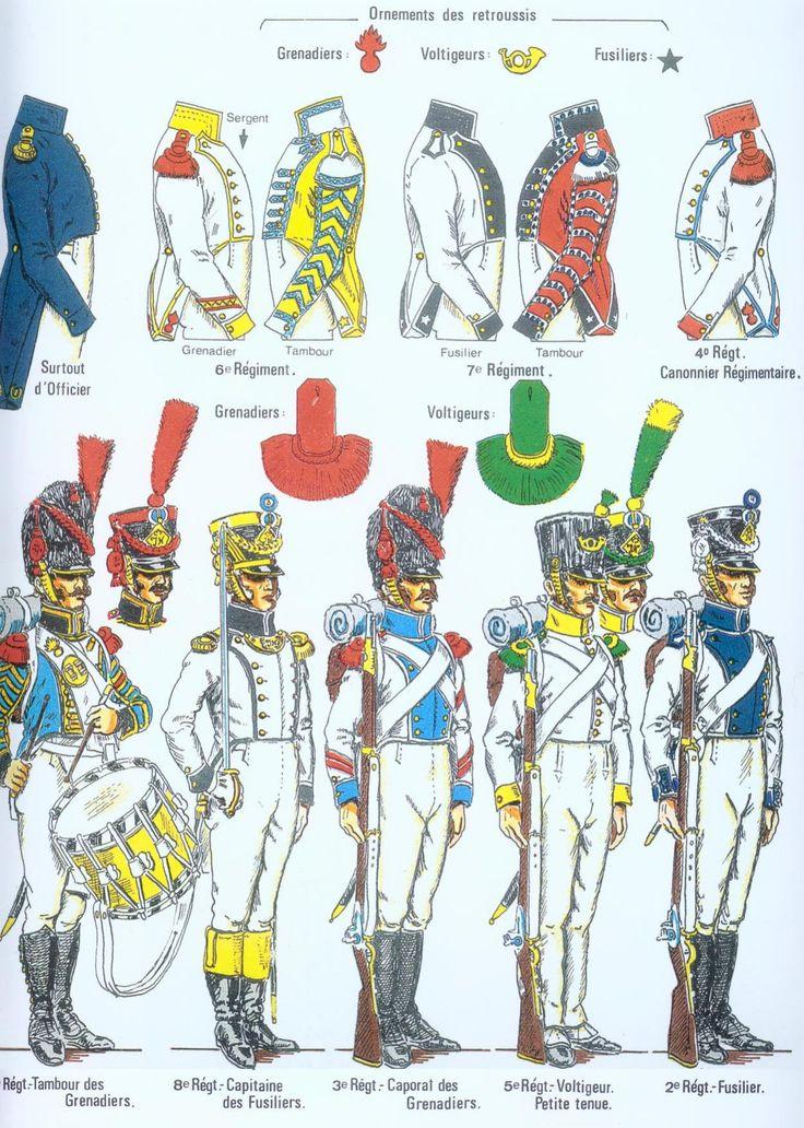 Westphalia; Line Infantry, Regts 1 to 8