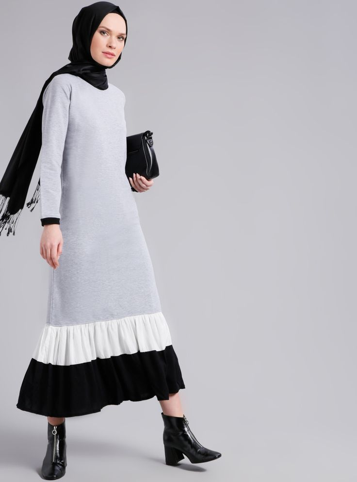 Refka Gri Fırfır Detaylı Elbise 74.99 TL http://alisveris.yesiltopuklar.com/refka-gri-firfir-detayli-elbise.html