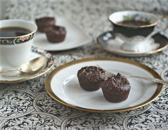 Hemp 2-bite brownies by simply sugar and gluten free