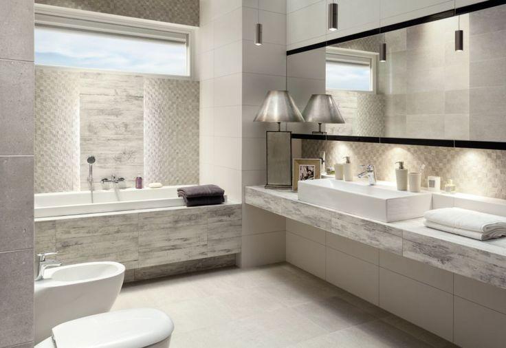 Modna łazienka. Wybierz szare płytki  - zdjęcie numer 5