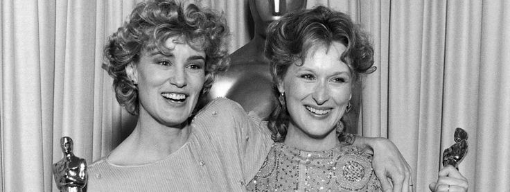 """Best Supporting Actress Jessica Lange (""""Tootsie"""") and Best Actress Meryl Streep (""""Sophie's Choice"""")."""