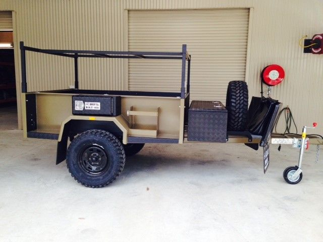 Yeah so this is our DOT 7 base trailer.. you can buy trailers less than half this price, and you can pay a lot more also, but we are trying to build the best quality trailer we can, for a reasonable price.