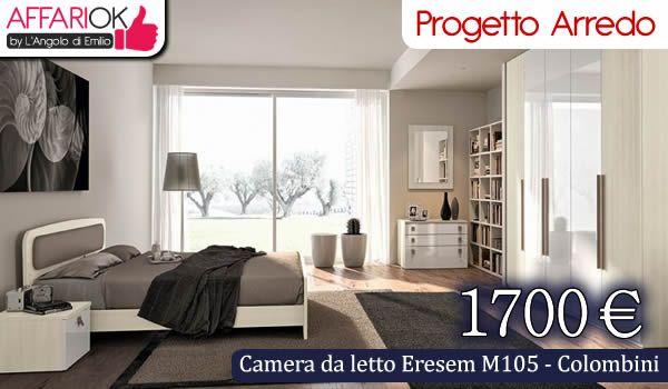 Camera da letto Eresem M105 - Colombini http://affariok.blogspot.it/2015/05/camera-da-letto-eresem-m105-colombini.html