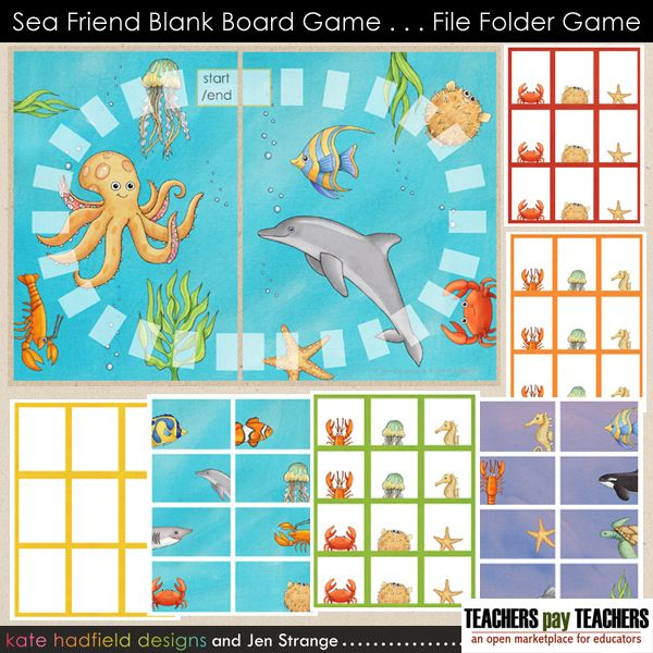 free file folder game templates - 23 best images about game boards on pinterest blank