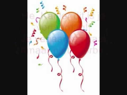 Hé, kanjer dit is je verjaardag! op de plaats van kanjer, kun je de naam van het kind plaatsen.-lied