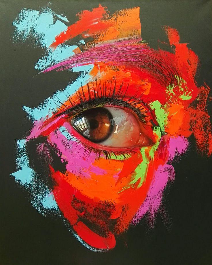 Oleo sobre lienzo 100x70cm by Patricia Vesga PAVES