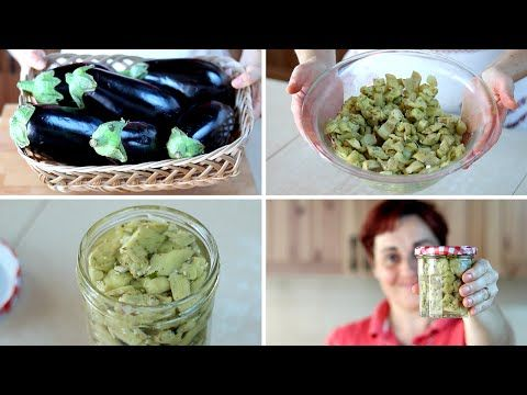 Melanzane Sott'Olio Ricetta Facile di Benedetta - Pickled Eggplant in Oil Easy Recipe - YouTube