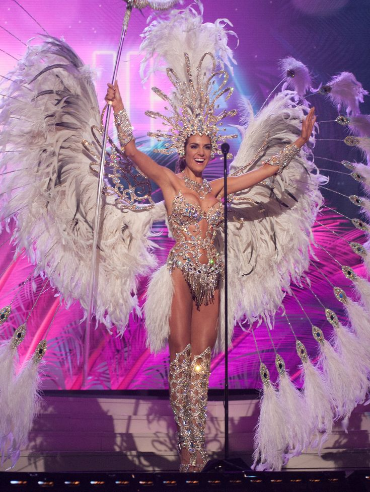 Miss Universe national costumes 2015 (click through for massive full set)