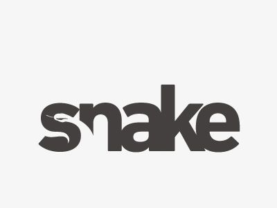 snake 30 Clever Examples of Negative Space Logos