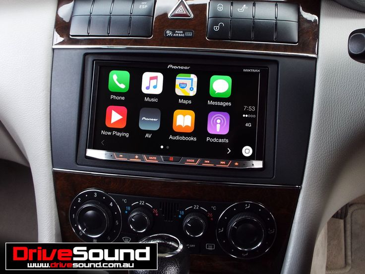 mercedes c class with apple carplay installed by. Black Bedroom Furniture Sets. Home Design Ideas