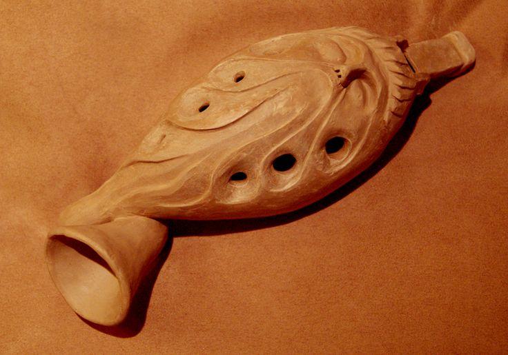 Pinch pot construction ceramic musical instruments...
