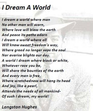 langston hughes poems - Google Search