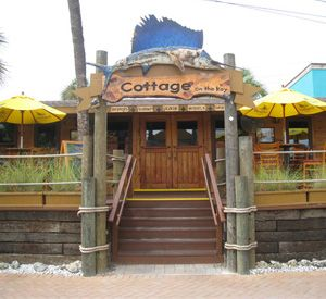The Cottage @ Siesta Key Village. They have a fantastic outdoor patio in back. Sarasota, FL