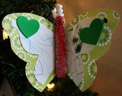 Butterfly Artwork Ornaments