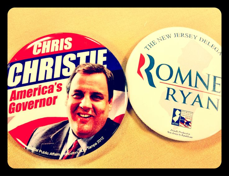 Swag at NJGOP welcome party