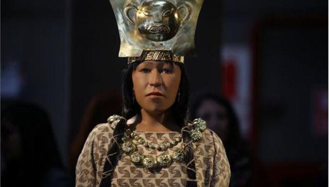 Το πρόσωπο της Κυρίας που κυβέρνησε το Περού πριν από 1.700 χρόνια