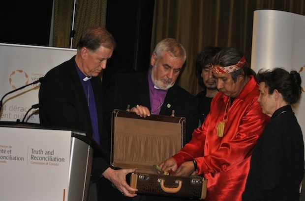 'My little residential school suitcase'  #TRC #Anglican #residentialschools