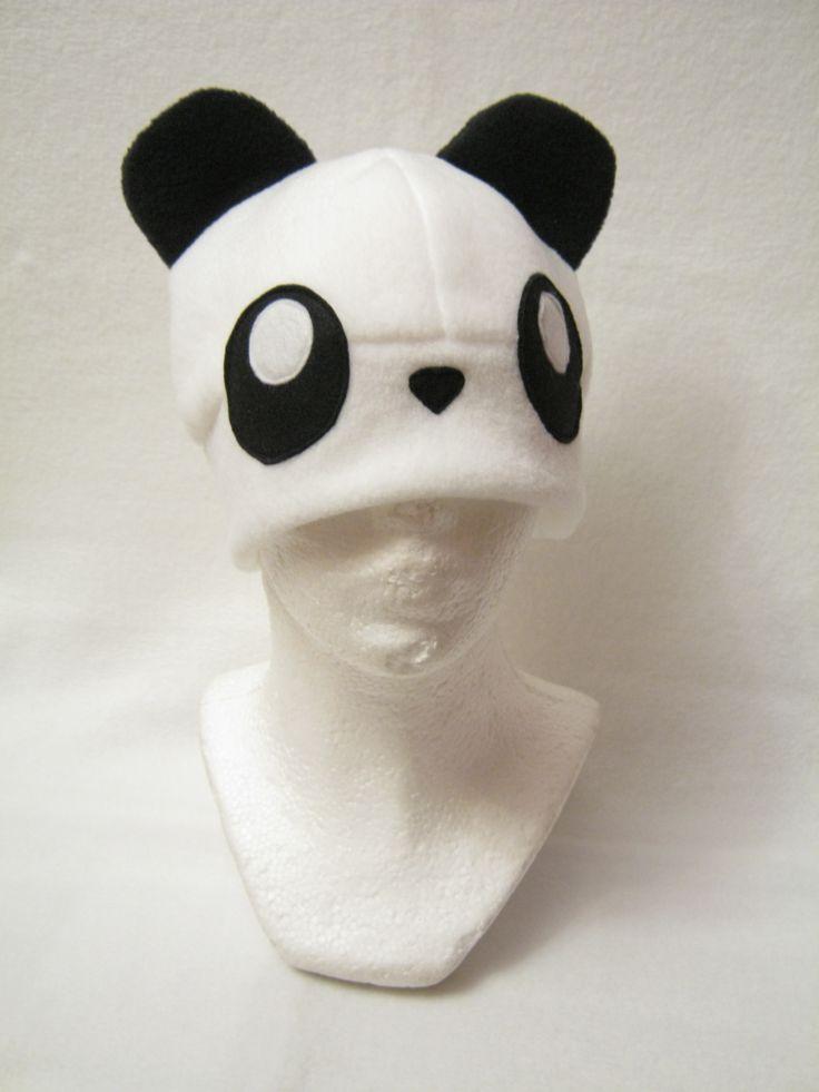 Cute Panda Hat  Made by Plush Workshop