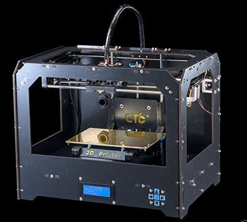 3D-Drucker Personal Protable 429,00€  Desktop (schwarzen) 3-D-Drucker Rapid Manufacturing Systeme 3D-Modelle 3D Drucker 3D Printer mit SD Karte (enthalten 1x 1.75mm