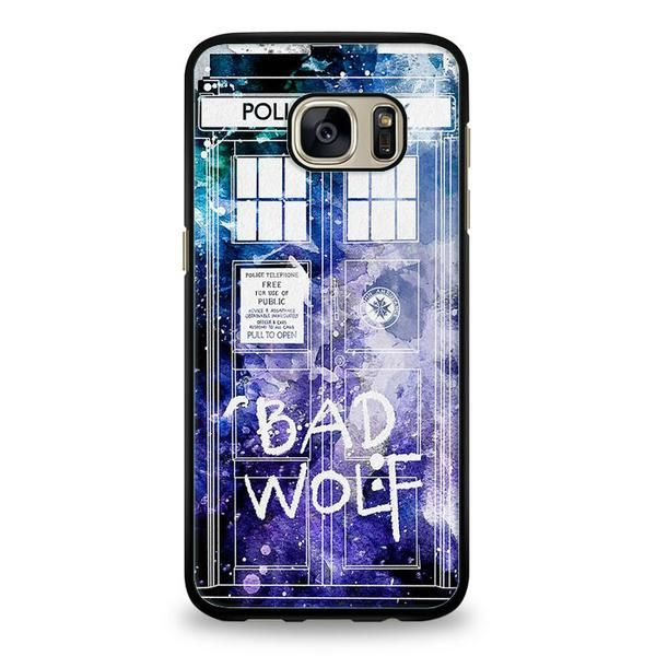 Bad Wolf Tardis Samsung Galaxy S6 Edge Case  ^ Materials : Plastic, Rubber  ^ Colors : Black, White, Transparent ^ Price : $12.50  #Samsung #SamsungGalaxy #SamsungGalaxyEdge #SamsungGalaxyEdgeS6 #SamsungGalaxyPhoneCase #PhoneCase #MobileCase #ariesand #ariesandCase #badwolf #badwolfPhoneCase