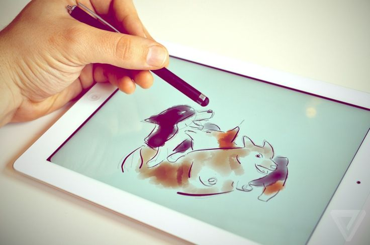 this is a great Ipad application. If you haven't tried it...do so. My only wish is for more control of thick and thin strokes and opacity - but I guess I have a WACOM for that.