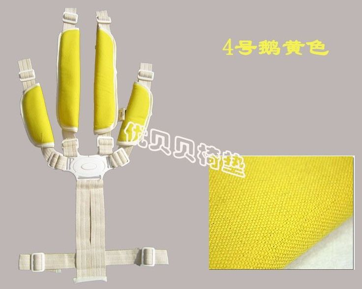Five-point seat belts baby high chair baby stroller accessories for children tricycle stroller child seat belt straps Shoulders