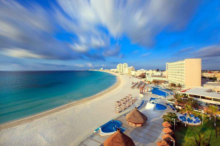 Cancun spring break hotels.