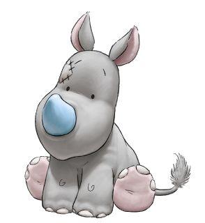 Shane Made Art: Blue Nose Friends Rhino Character designs