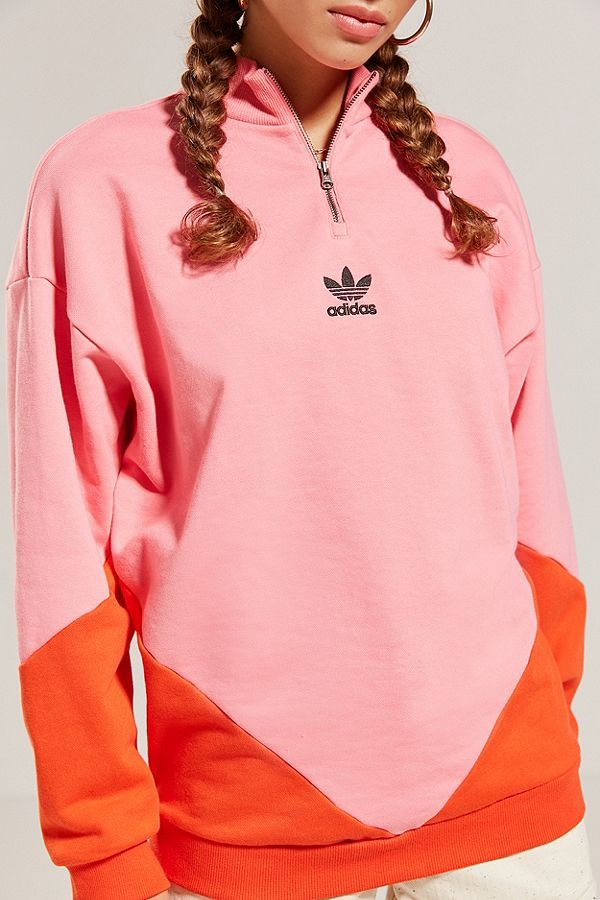adidas quarter hoodie