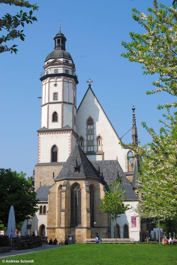Die Thomaskirche in Leipzig.
