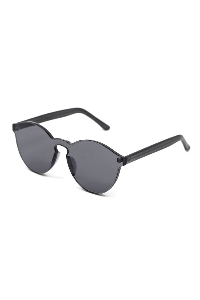 These unique sunglasses by BZR are acrylic molded, creating a futuristic and minimal vibe. Graphite Sunglasses, $45 | Moorla Seal