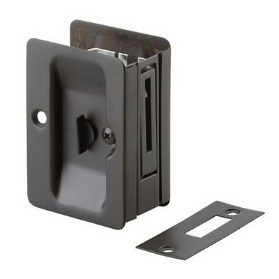 Richelieu 1701 Pocket Door Pull with Privacy Lock