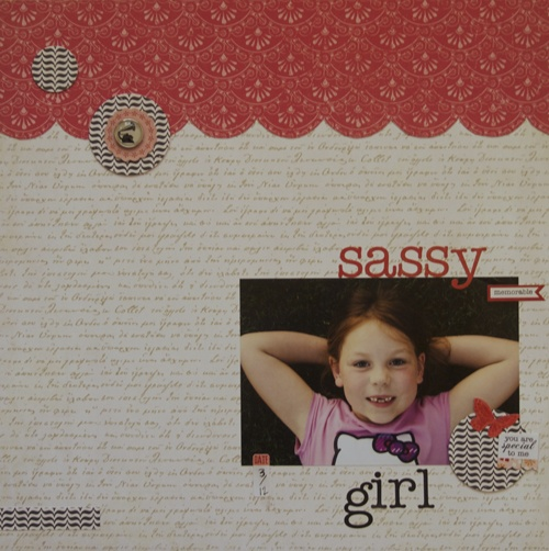 Layout by @Ashley Harris using the Tailored collection in the For the Record 2 Line by Echo Park Paper.