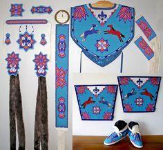 how to make fancy shawl regalia | Ladies Fancy Shawl Dance Set