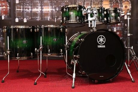 Yamaha B-Stock : Live Custom 6pc Drum Set Emerald Shadow Sunburst