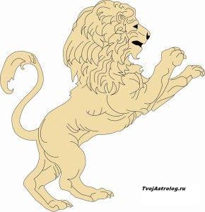 Гороскоп лев на год