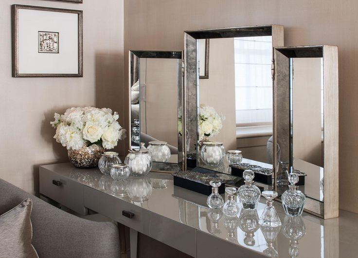 Bayswater Family Home - Dressing Table - Interior Design by Intarya – Interior Design by Intarya