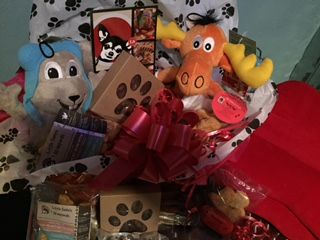"Your Puppies Would Absolutely LOVE a  ""Rocky & Bullwinkle"" Valentine's Gift Basket! 100% Organic and always FREE SHIPPING! Get one before they're gone! http://us9.campaign-archive2.com/"