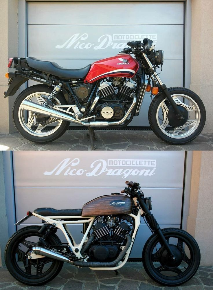 Honda VT500 von Nico Dragoni – # Dragoni39s #HONDA #Nico # VT500   – Other Classics