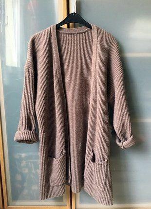 Kup mój przedmiot na #vintedpl http://www.vinted.pl/damska-odziez/kardigany/15551154-dlugi-sweter-narzutka-cieply-sweter-oversize-basic-tumblr-minimalizm