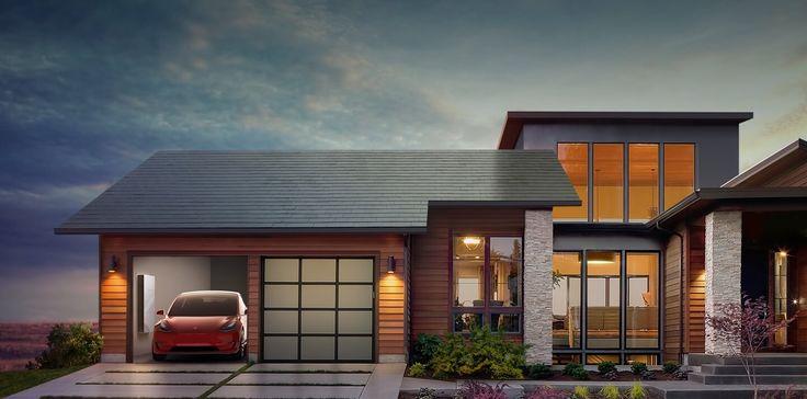Tesla - Roof Solar Tile