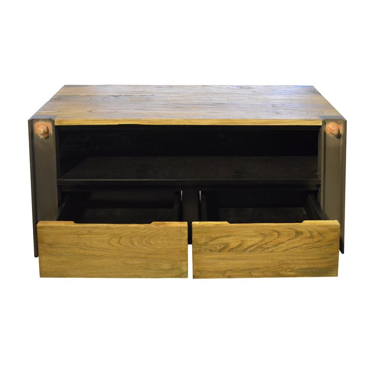 Industrial TV cabinet - Hanks. Industrial inspired TV Console.