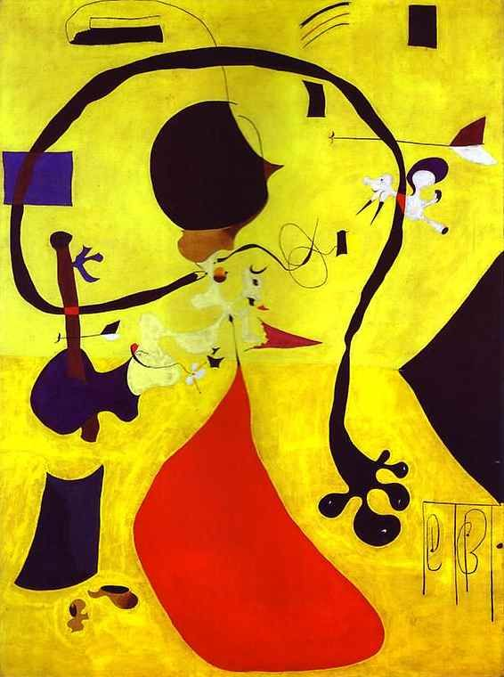 'Interior holandés', óleo sobre lienzo de Joan Miro (1893-1983, Spain)
