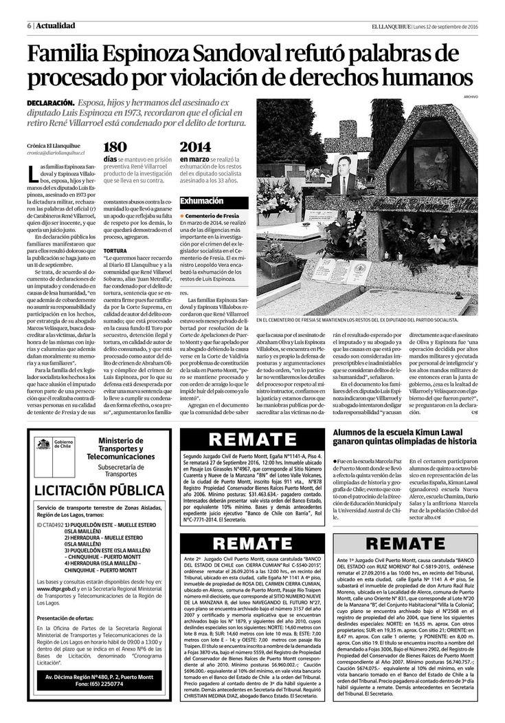Página 6 | El Llanquihue