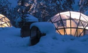 These heated glass igloos are the perfect place to witness the Northern Lights - Posted on Roadtrippers.com!