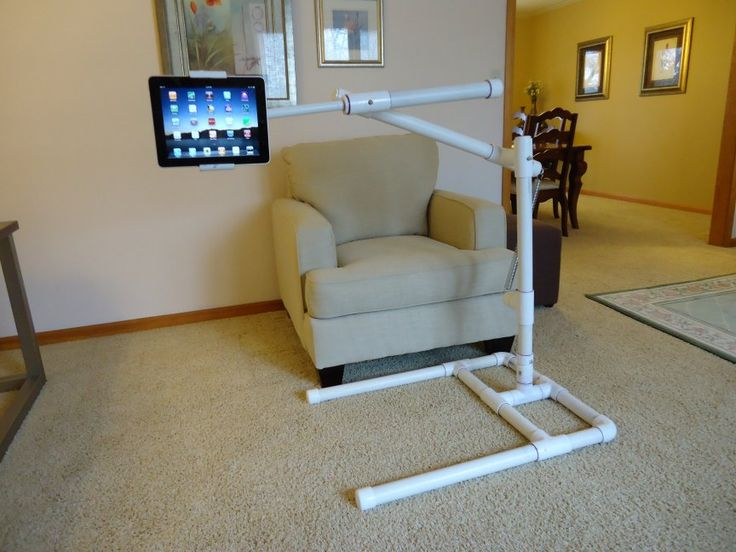 Pictures Of A Quot Build It Yourself Quot Pvc Ipad Stand Crafts