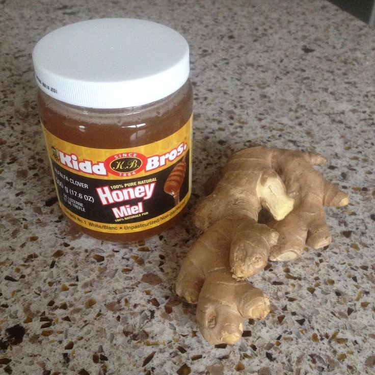 1 tsp of Unpasteurized honey is good for your stomach first thing on the morning. Cut ginger paper thin. Organic ginger is also great, peel and chop up 1 tsp of ginger and mix with honey. Yum. And so much healthier than that white sugar laden store bought candied ginger